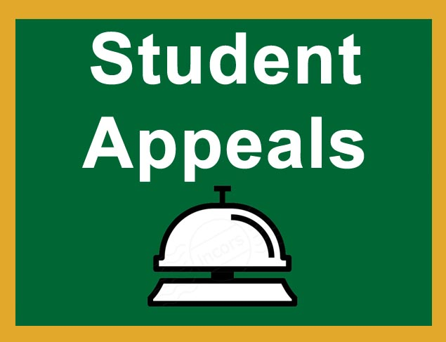 Student Appeals Button