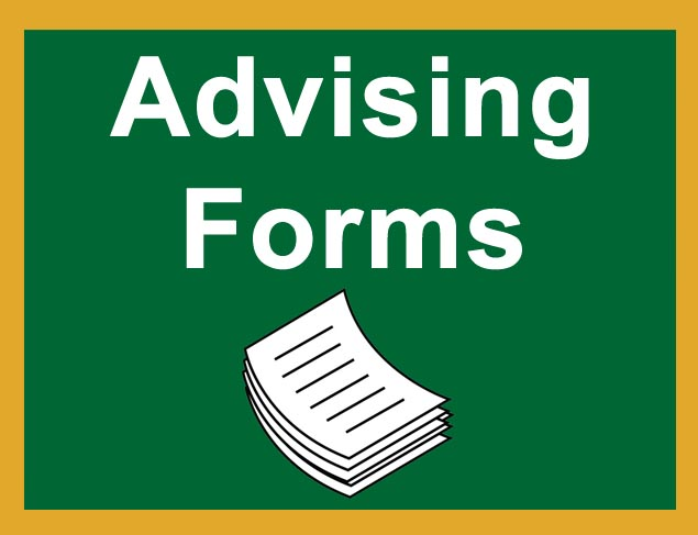 Advising Forms Button