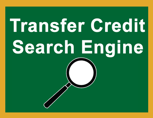 Transfer Credit Search Engine